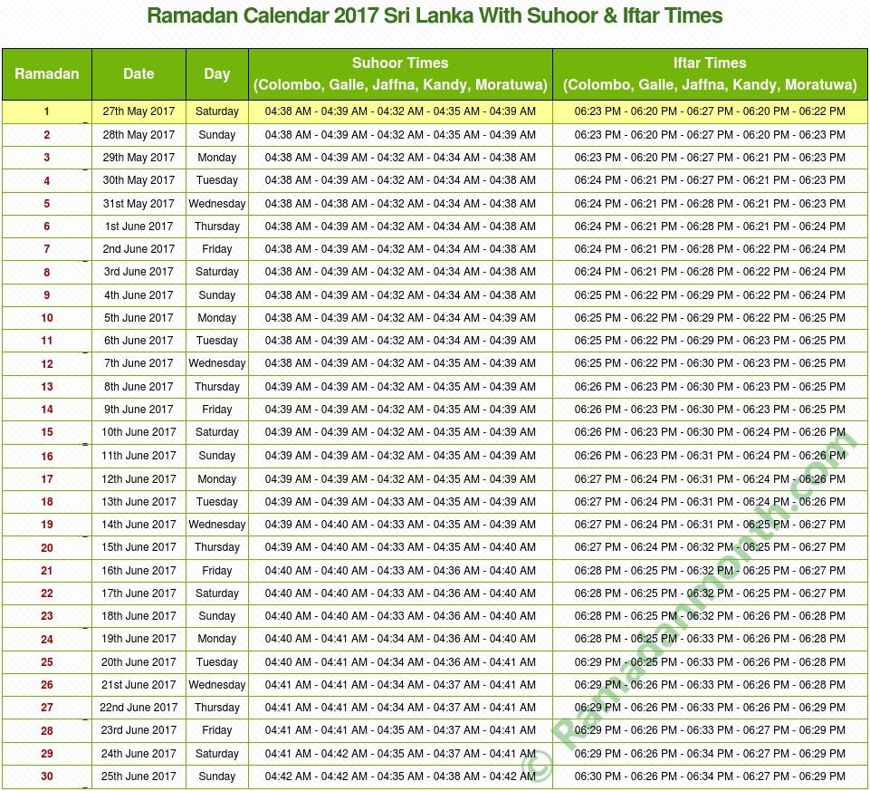 Image Result For Ramadan Calendar Uae Pdf
