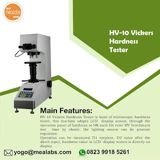 Alat Uji Kekerasan Vickers HV-10