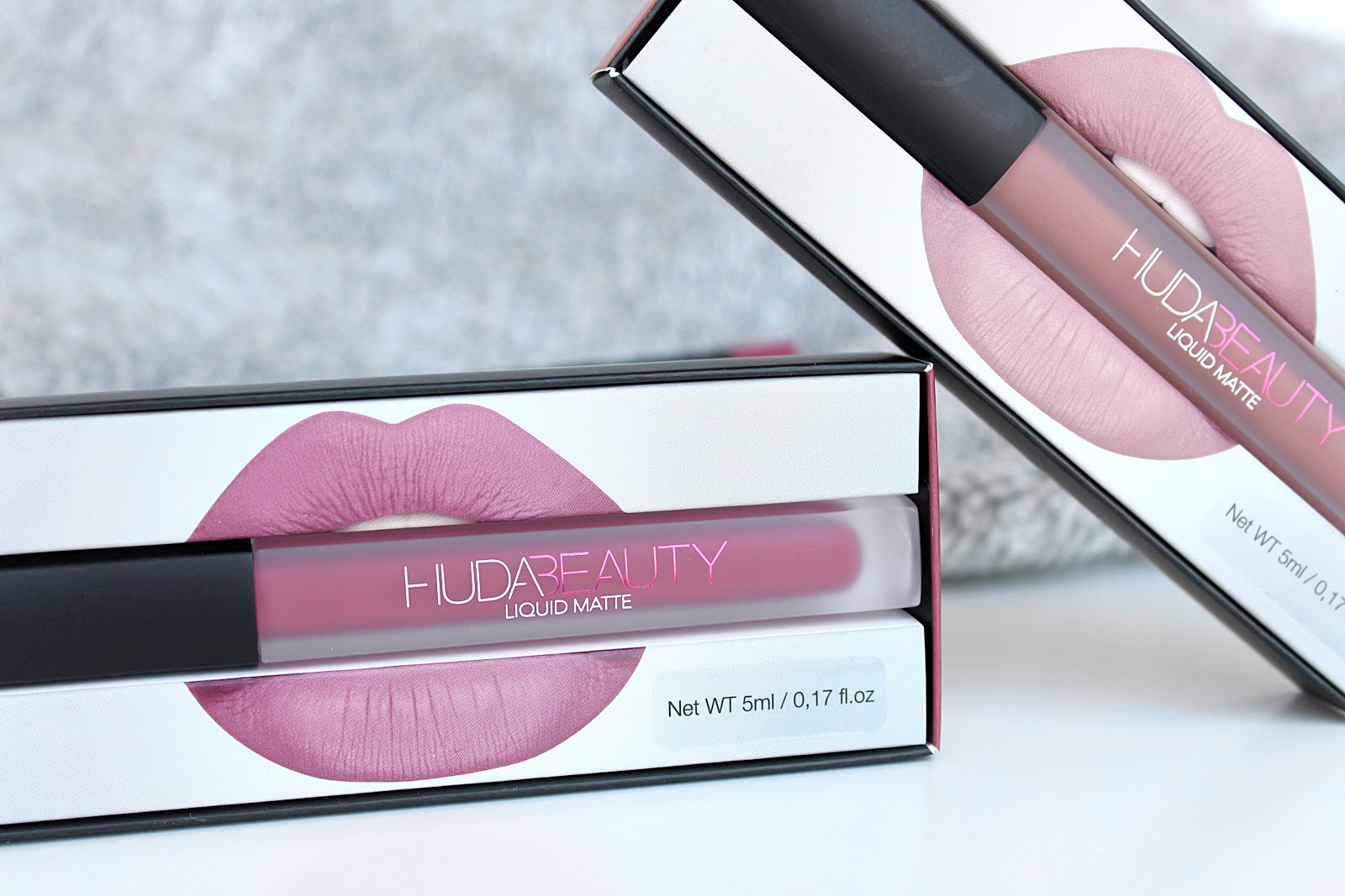Huda Beauty Lip Contour & Liquid Matte Lipstick Review