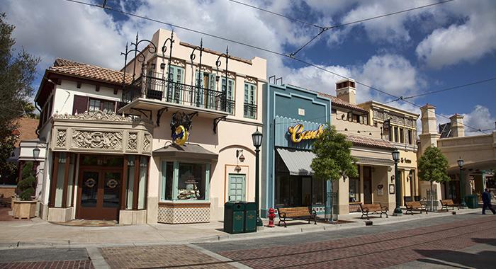 Buena Vista Street en Disney California Adventure.