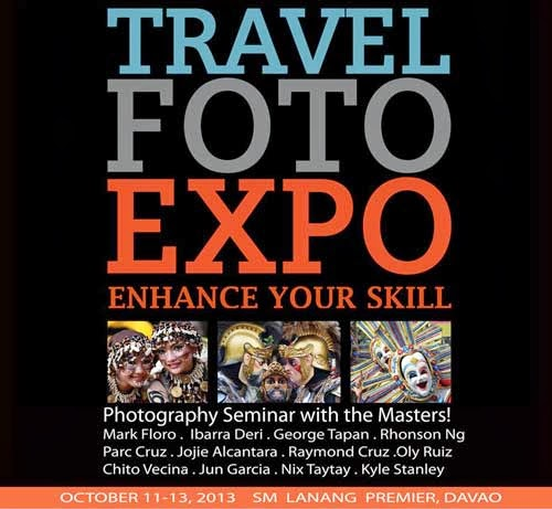 TRAVEL FOTO EXPO 2013 IN SM LANANG PREMIER
