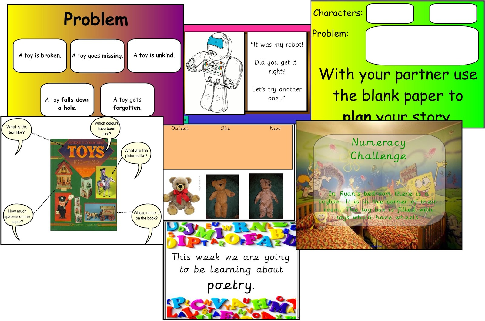 Toys Topic Resources Iwb Smartboards Eyfs Ks1