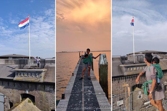Pampus Eiland - werelderfgoed Nederland