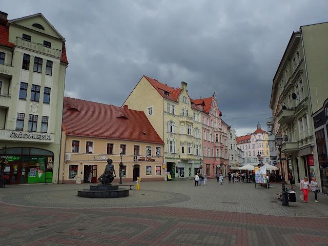 Zielonogórskie stare miasto