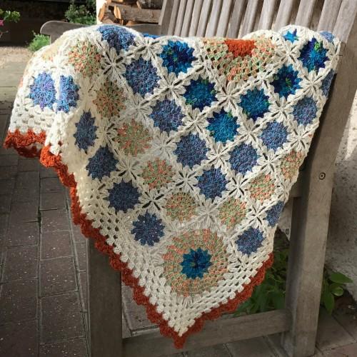 Springtime Snow Baby Blanket - Free Pattern