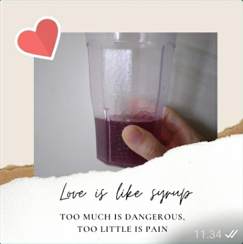 Love Is Like Syrup