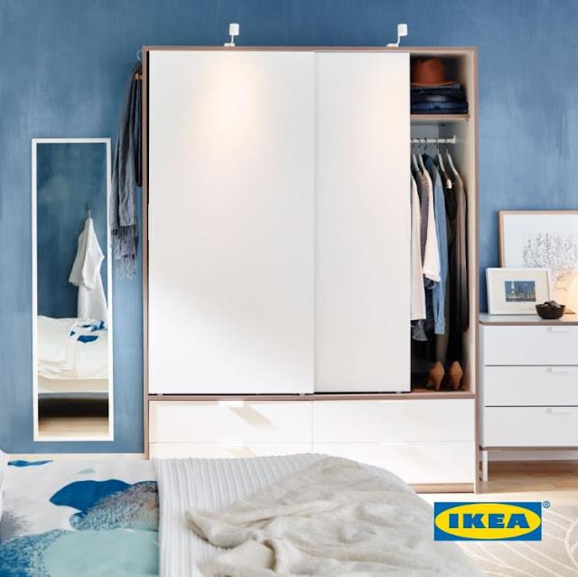 Tips Memilih Model Lemari Pakaian di IKEA Indonesia