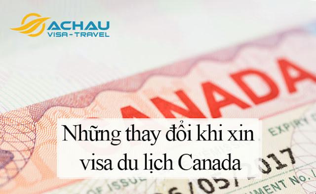 Thận trong với những thay đổi quan trọng khi xin visa du lịch Canada