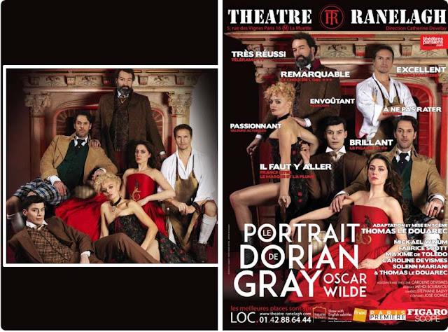 Le portrait de Dorian Gray adapté auThéâtre Ranelagh