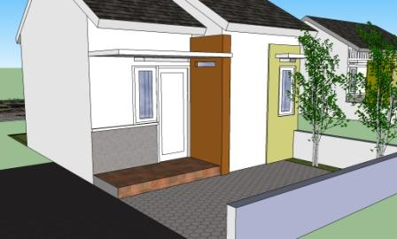 desain rumah minimalis: rumah minimalis lahan 5x11 meter
