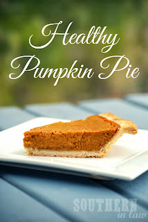 Healthy Pumpkin Pie Recipe Gluten Free Low Fat