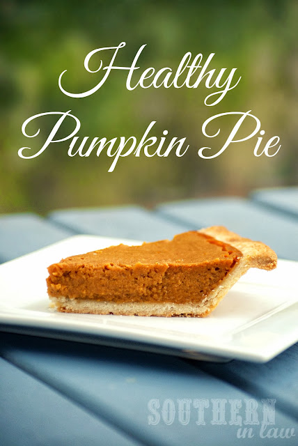 Low Fat Healthy Pumpkin Pie Recipe