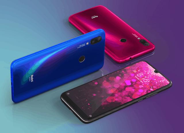 Xiaomi Redmi 7 bleu information prix Maroc livraison Maroc