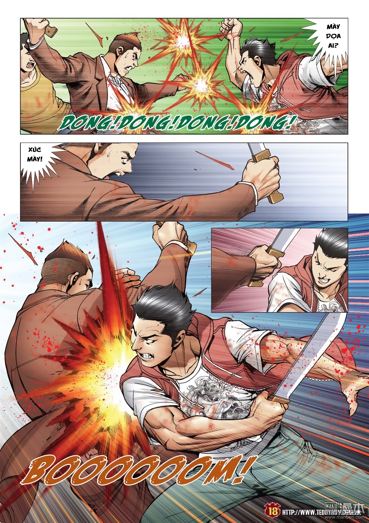 Người Trong Giang Hồ chapter 2015: tọa sơn hổ vs đại phạn trang 15