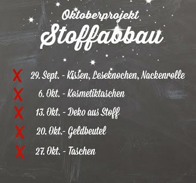 Oktoberprojekt Stoffabbau