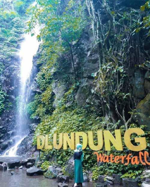 Dlundung Waterfall Mojokerto