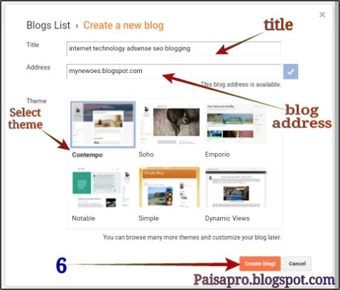 Google par free blog kaise banaye
