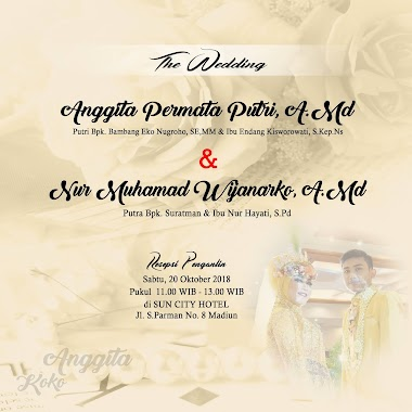 WEDDING POTRET BY ANUGRAH FOTOGRAFI MADIUN