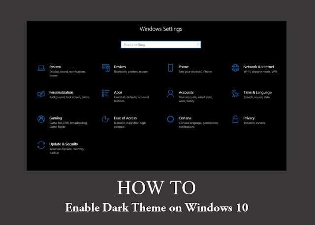 how-to-enable-dark-theme-windows-10