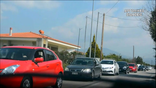 Ουρά χιλιομέτρων από αυτοκίνητα στο Ναύπλιο για το διήμερο της 25ης Μαρτίου