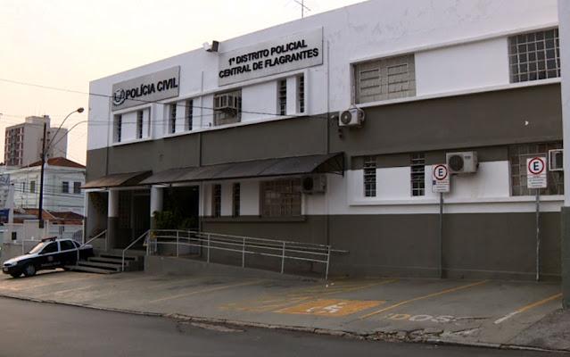 Caso é investigado pelo 1º DP de Campinas — Foto: Reprodução EPTV