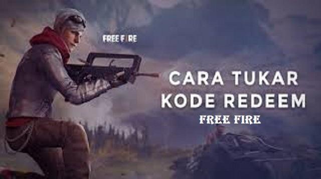 Cara Tukar Kode Redeem Free Fire
