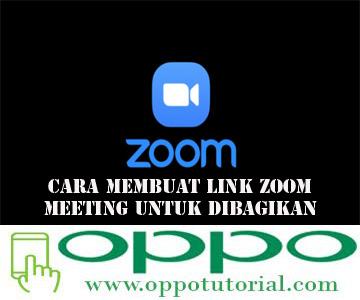 Cara Membuat Link Zoom Meeting Untuk Dibagikan