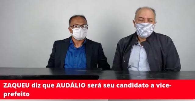 Zaqueu Naun e Audálio Ramos