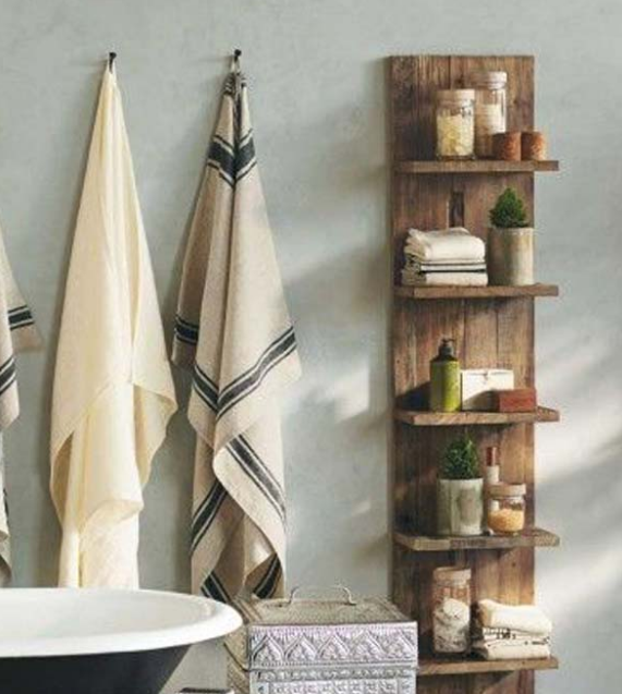 FANTASTIC DIY BATHROOM PALLET PROJETCS