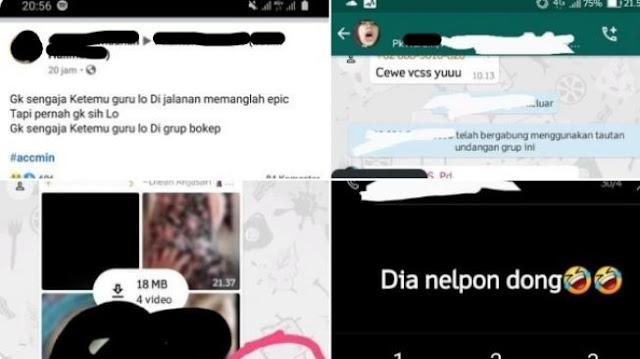 "Viral Siswa Ketemu Gurunya di WAG Dewasa: ""Halo Pak"""
