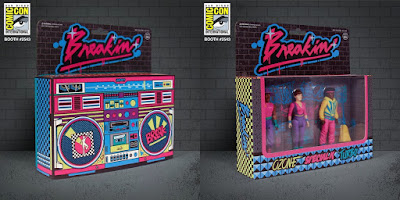 San Diego Comic-Con 2019 Exclusive Breakin' ReAction Retro Action Figure Box Set by Super7