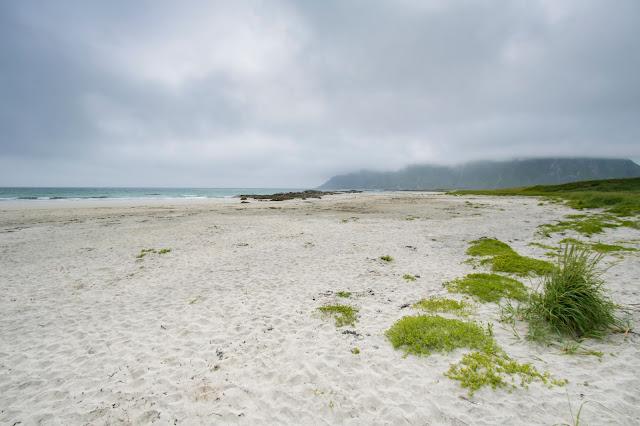 Spiaggia di Flakstad-Isole Lofoten