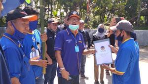Agus Istiqlal Lantik Pengurus Nasdem Tingkat Pekon di Empat Kecamatan