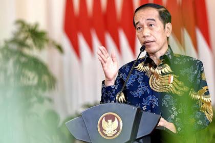 Presiden Jokowi Resmi Membuka Acara Sarasehan 100 Ekonom Indonesia