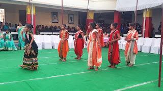 एकलव्य आदर्ष आवासीय विद्यालय कन्या शिक्षा परिसर में वार्षिकोत्सव का आयोजन हुआ