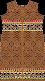 Ekat Print Suit Kurtis Jacket Textile Digital Design - Front 2750