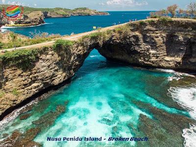 Nusa Penida Island - Broken Beach