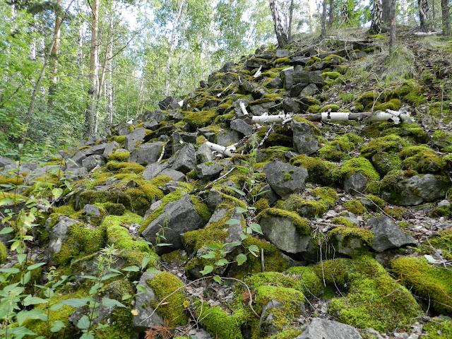 Каменная насыпь Курочкин лог