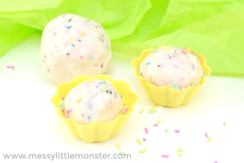 cake mix edible playdough recipe
