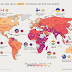 The Most And Least Happy Countries Around The World #infographic