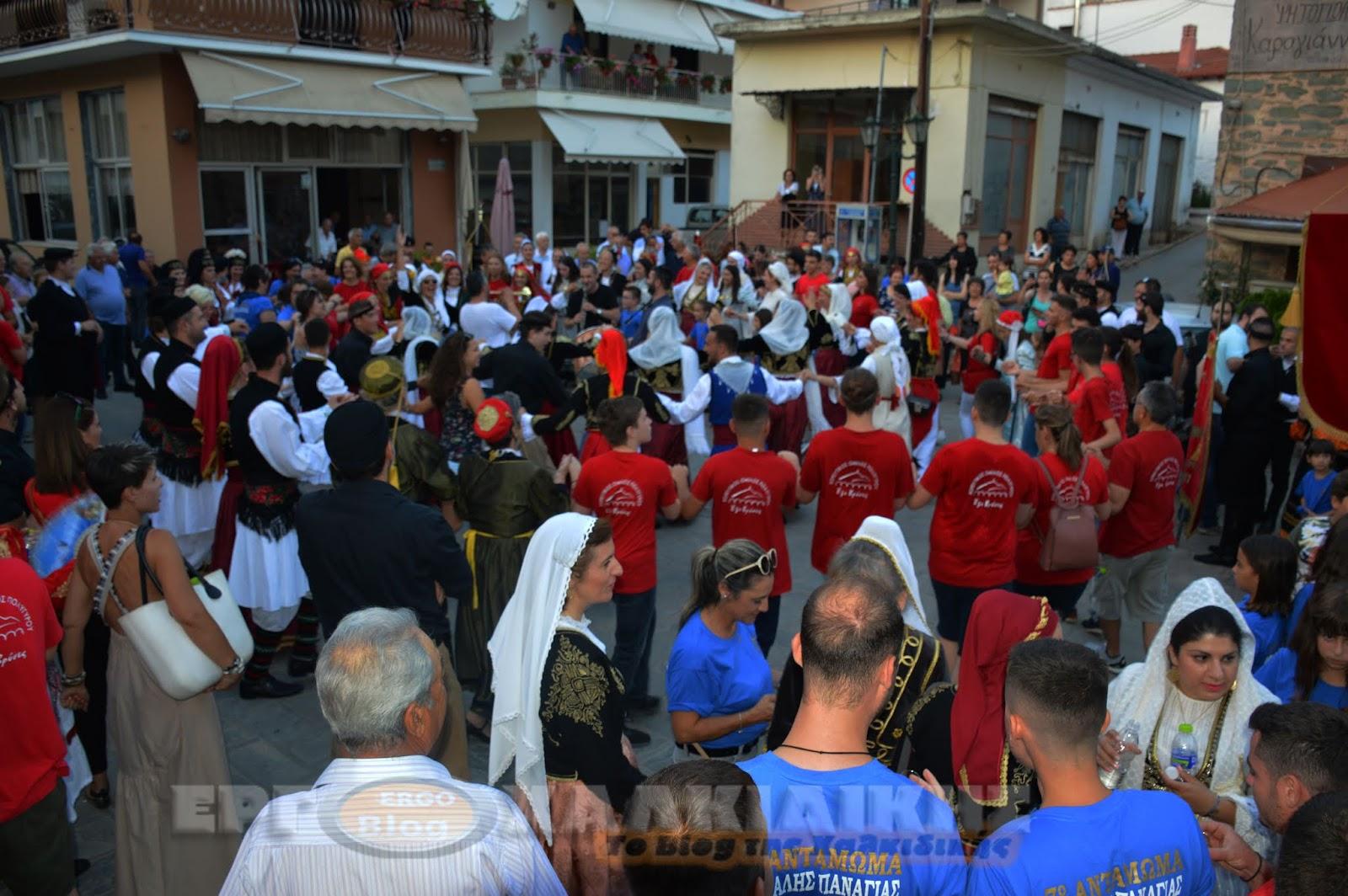 7ο Αντάμωμα Χορευτικών Συλλόγων Μακεδονίας - Κρήτης (φωτορεπορτάζ)
