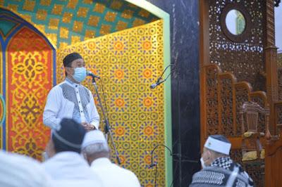 Gubri: Daerah Melaksanakan PPKM Dianjurkan Tidak Berjamaah di Masjid