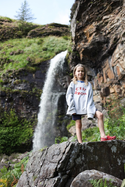 Pen Pych waterfall