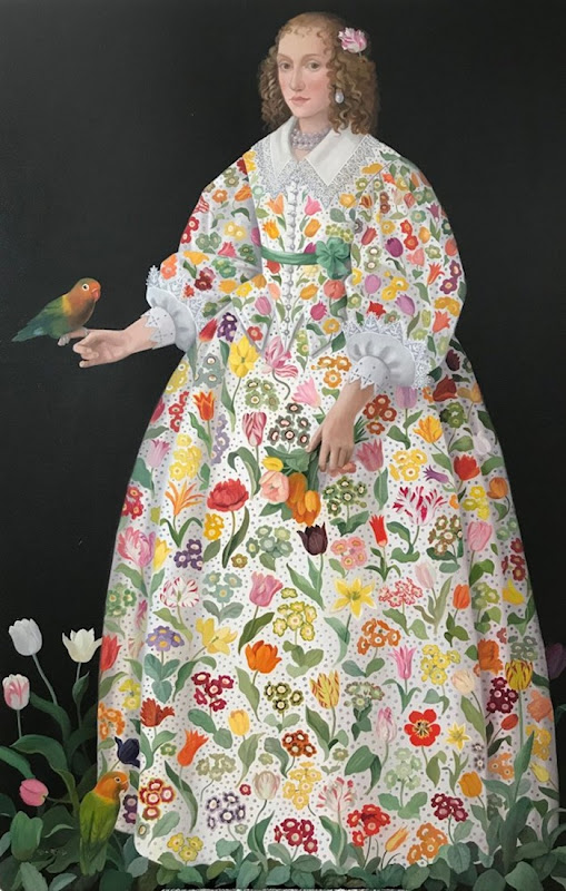 Lizzie RICHES ✿ | Catherine La Rose ~ The Poet of Painting