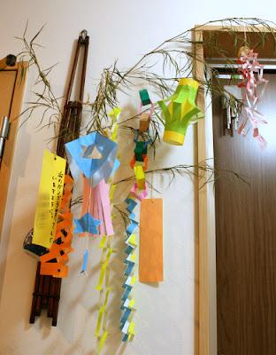 折り紙で七夕飾り