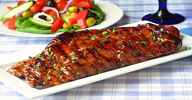 Low Fat Honey Garlic Boneless Ribs Recipe