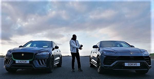 Lister Stealth vs Lamborghini Urus