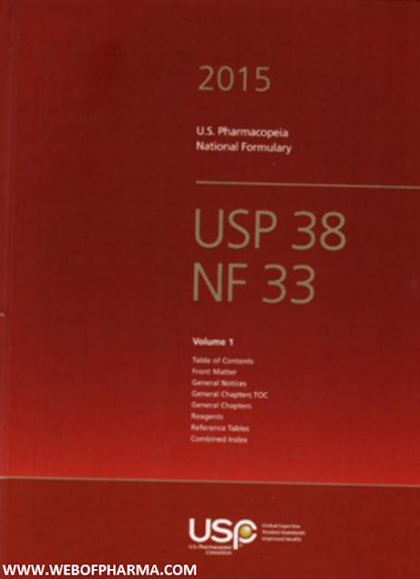 USP 38 – NF 33 (2015)