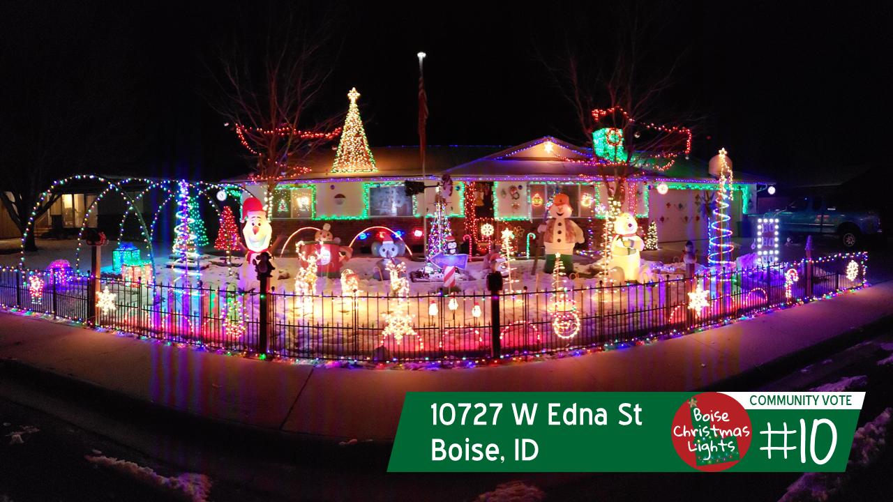 Christmas Lights Boise.Top 10 Boise Christmas Light Displays Of 2018 Community Vote