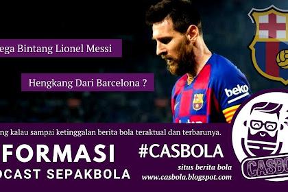 Lionel Messi Hengkang Dari Barcelona Usai Kontrak